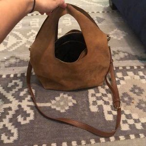 Free People Suede Purse